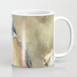 Stunning Kingfisher In Watercolor Coffee Mug