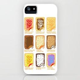 Pop Tart Pop Art iPhone Case