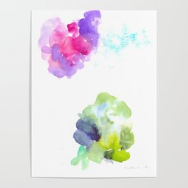 180802 Beautiful Rejection  10| Colorful Abstract Poster