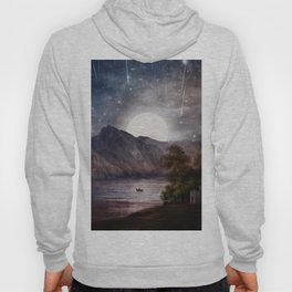 Love under A Wishing Star Sky Hoody