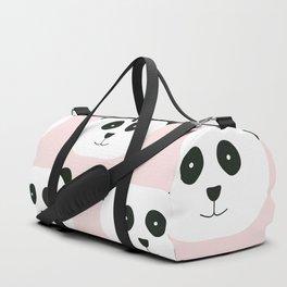 Panda Love -Pink Duffle Bag