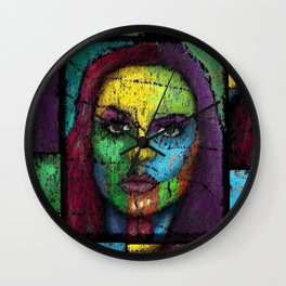 Of Pain and Happiness Forgotten Wall Clock