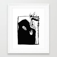 pagan Framed Art Prints featuring Pagan Image by Xochicalco