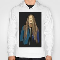 gangster Hoodies featuring Gangster by Elena Medero