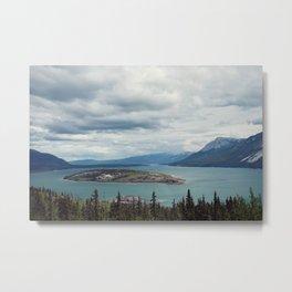 Bove Island Tagish Lake Metal Print