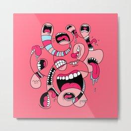 Big Mouths Metal Print