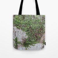 moss Tote Bags featuring Moss by Cassidy Marshall