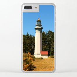Grays Harbor Light Station Clear iPhone Case