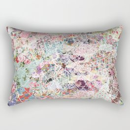 Rome map Rectangular Pillow