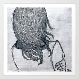 Hibernate. Art Print