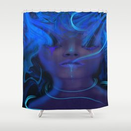 Laced Shower Curtain
