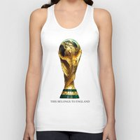 world cup Tank Tops featuring World Cup by Rothko