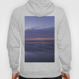 Vivid sunrise on the beach Hoody