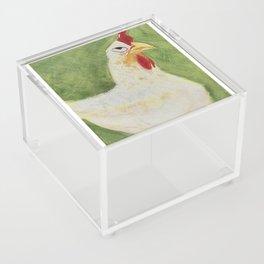 Sassy Chicken Acrylic Box