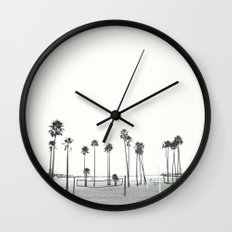 Bleached Beach Wall Clock