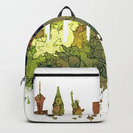 Las Vegas Skyline - Safari Buff Backpack