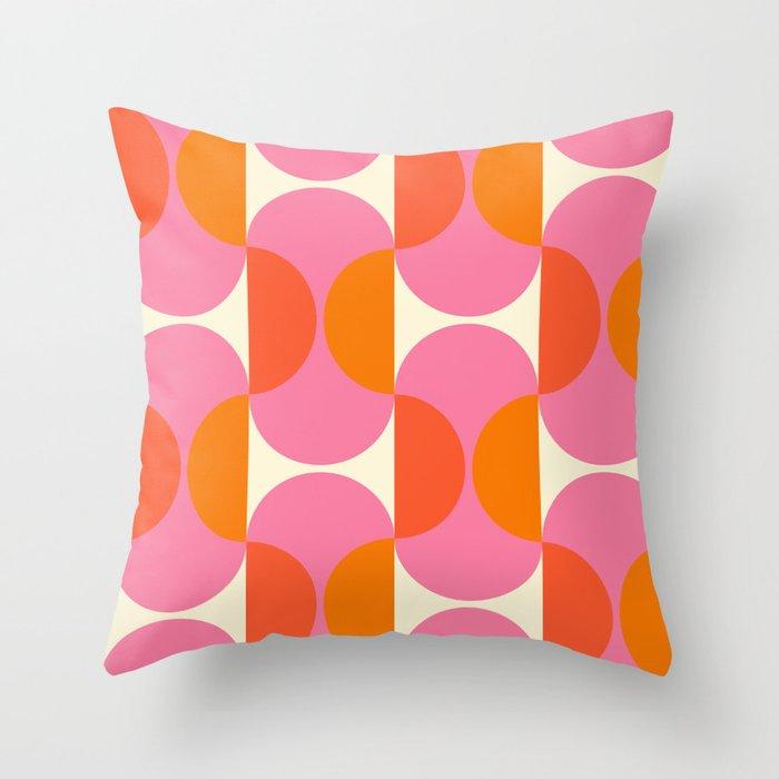 Capsule Sixties Throw Pillow