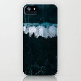 Wave in Motion - Ocean Photography iPhone Case