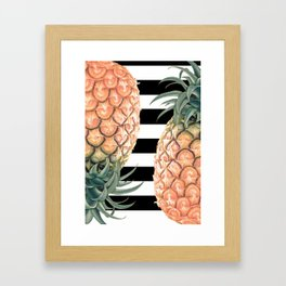 No More Apple! Framed Art Print