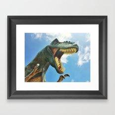T-Rex Roar Framed Art Print