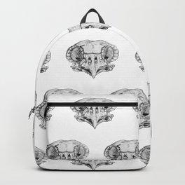 Owl Skull sketch study Backpack
