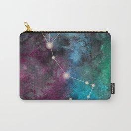 Watercolor Zodiac Scorpio Galaxy Carry-All Pouch
