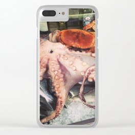 Fresh Catch Clear iPhone Case