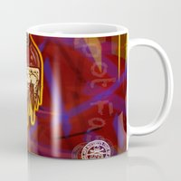 lebron Mugs featuring Ode to France by SaintCastro