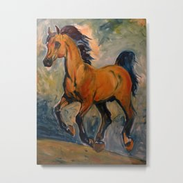 Bay Arab Metal Print
