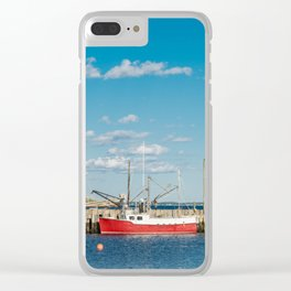 Northwest Cove Clear iPhone Case