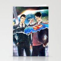 heroes Stationery Cards featuring Heroes by Hai-ning