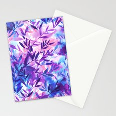 Changes Purple Stationery Cards
