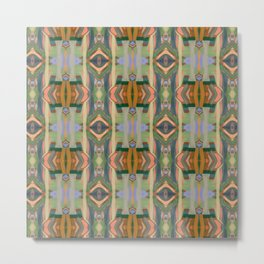 Arabian days (Paint Columns 3) Metal Print