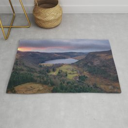 Lough Tay - Wicklow Mountains, Ireland (RR329) Rug