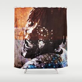 The Black Guy Shower Curtain