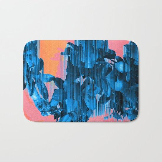 Velocious Blue Little Tree Bath Mat