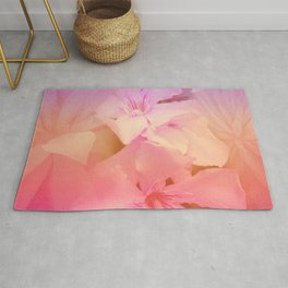 The Beauty Of Cacti And Flowers Rug