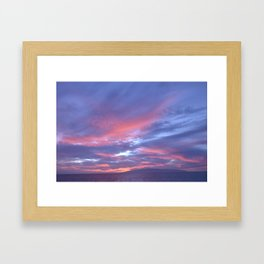 pastels. Framed Art Print
