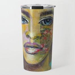 Bea Turquoise Travel Mug