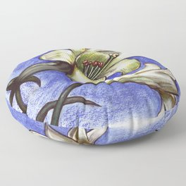 Easter Lily Floor Pillow
