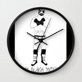 CM Black Metal Wall Clock