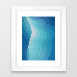 Peering out Framed Art Print