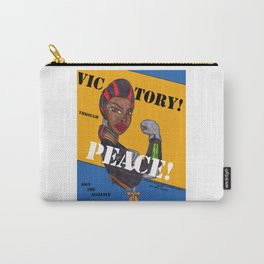 Victory Through Peace Carry-All Pouch