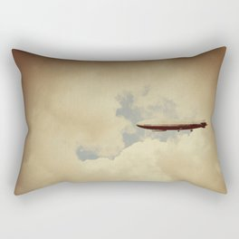 When They Fall Back To Earth Rectangular Pillow
