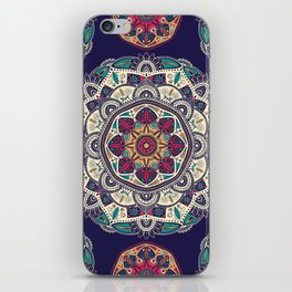 Colorful Mandala Pattern 007 iPhone Skin