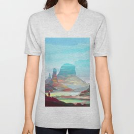 On another planet 2 Unisex V-Neck