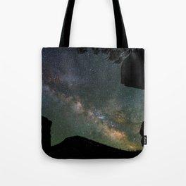 Galaxy Gazing Tote Bag