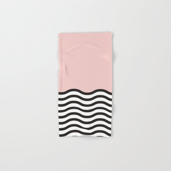 Waves of Pink Hand & Bath Towel