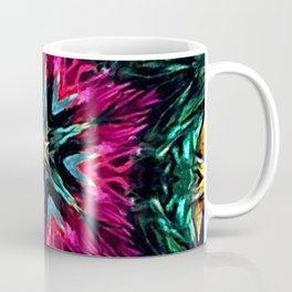 Girls Night Out Feather Boa Kaleidoscope Coffee Mug