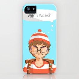 Williamsburg Waldo iPhone Case